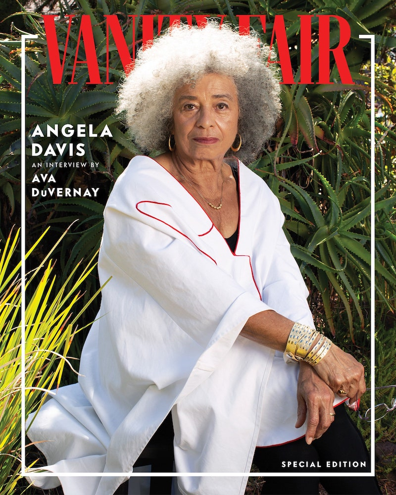 Angela Davis photo by Deana Lawson
